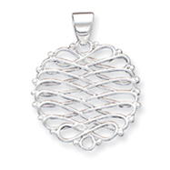 Sterling Silver Fancy Pendant
