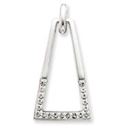 Sterling Silver Swarovski Crystal Pendant