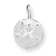 Sterling Silver Sanddollar Charm