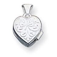 Sterling Silver Heart Locket