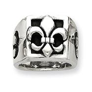 Sterling Silver Fleur De Lis Ring