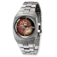 Mens Ed Hardy Kool Steel Red Tiger Watch