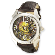 Mens Ed Hardy Revolution Brown Watch