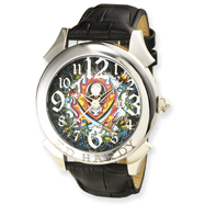 Mens Ed Hardy Revolution Black Watch