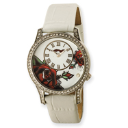 Ladies Ed Hardy Antoinette White Watch