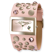 Ladies Ed Hardy Love Child Pink Watch