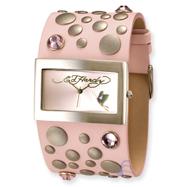 Ladies Ed Hardy Love Child Pink Watch