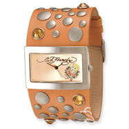 Ladies Ed Hardy Love Child Orange Watch