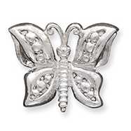 Sterling Silver Butterfly Slide