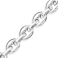 Sterling Silver Fancy Link Bracelet