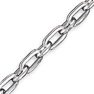 Sterling Silver 7.75inch Fancy Link Bracelet