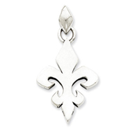 Sterling Silver Gothic Pendant