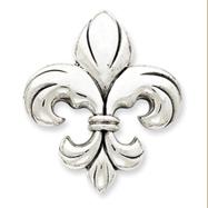 Sterling Silver Fleur De Lis Pendant