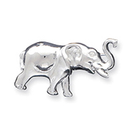 Sterling Silver Elephant Pin