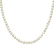"8mm Cultura Glass Pearl Single Strand 24"" Necklace"
