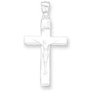 Sterling Silver INRI Crucifix Pendant