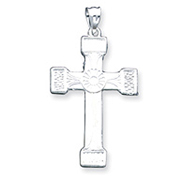Sterling Silver Iona Cross Pendant