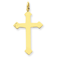 14K Gold Passion Cross Charm