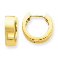 14K Gold Hinged Earrings