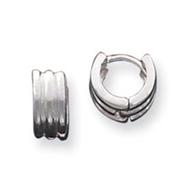 Sterling Silver Huggy Earrings