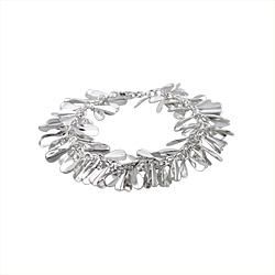 Sterling Silver Malai Bracelet