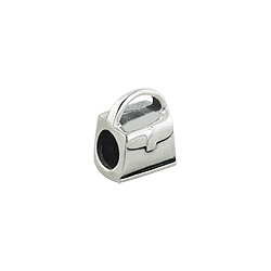 Sterling Silver Purse Bead