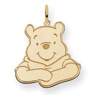 14K Gold Disney Winnie The Pooh Charm