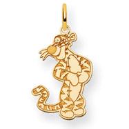 14K Gold Disney Tigger Charm