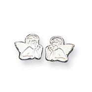 Sterling Silver Angel Mini Earrings
