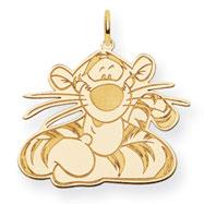 14K Gold-Plated Silver Disney Tigger Charm