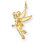 14K Gold Disney Tinker Bell Charm