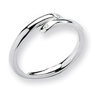 Sterling Silver White Ice .02ct. Diamond Ring