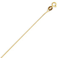14K Gold 0.5mm Box Chain