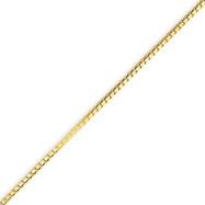 14K Gold 1.20mm Box Chain