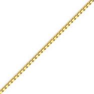 14K Gold 2mm Box Chain