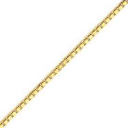 14K Gold 2.5mm Box Chain