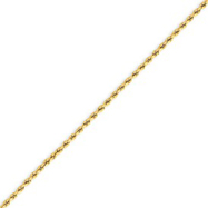 14K Gold 2.0mm Supreme Value Rope Bracelet