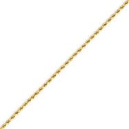 14K Gold 2.0mm Supreme Value Rope Bracelet