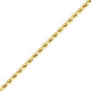 14K Gold 3.0mm Supreme Value Rope Bracelet