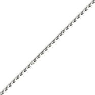 14K White Gold 1.5mm Franco Chain