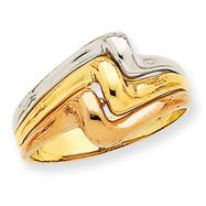 14K Tri-Color Gold Fancy Ring