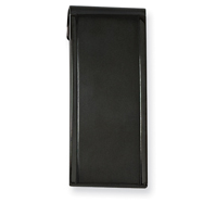 Stainless Steel Black-plated Money Clip