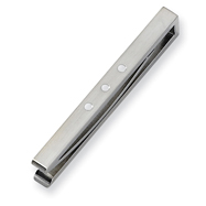 Stainless Steel Enameled Tie Bar