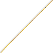 Yellow Rhodium Over Brass 2.00mm Plated Ball Chain