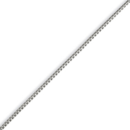 Stainless Steel 2.5mm Box Chain