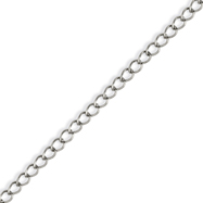 Stainless Steel 8mm Curb Chain