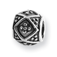 Sterling Silver Reflections Dots Bali Bead