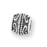 Sterling Silver Reflections Scroll Bali Bead