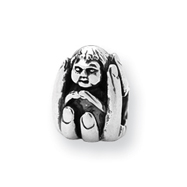 Sterling Silver Reflections Baby in Hands Bead