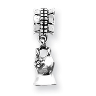 Sterling Silver Reflections Tank Top Dangle Bead